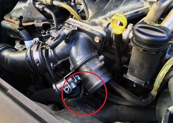 V50 2 0D motorsyst  service erfordras och felkod P2263